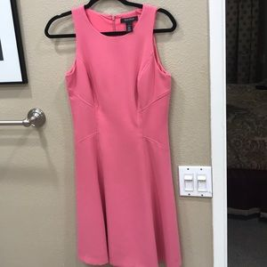 WHBM a-Line pink dress in excellent condition!